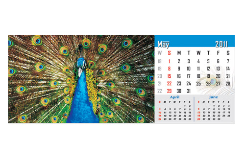 table top calendar